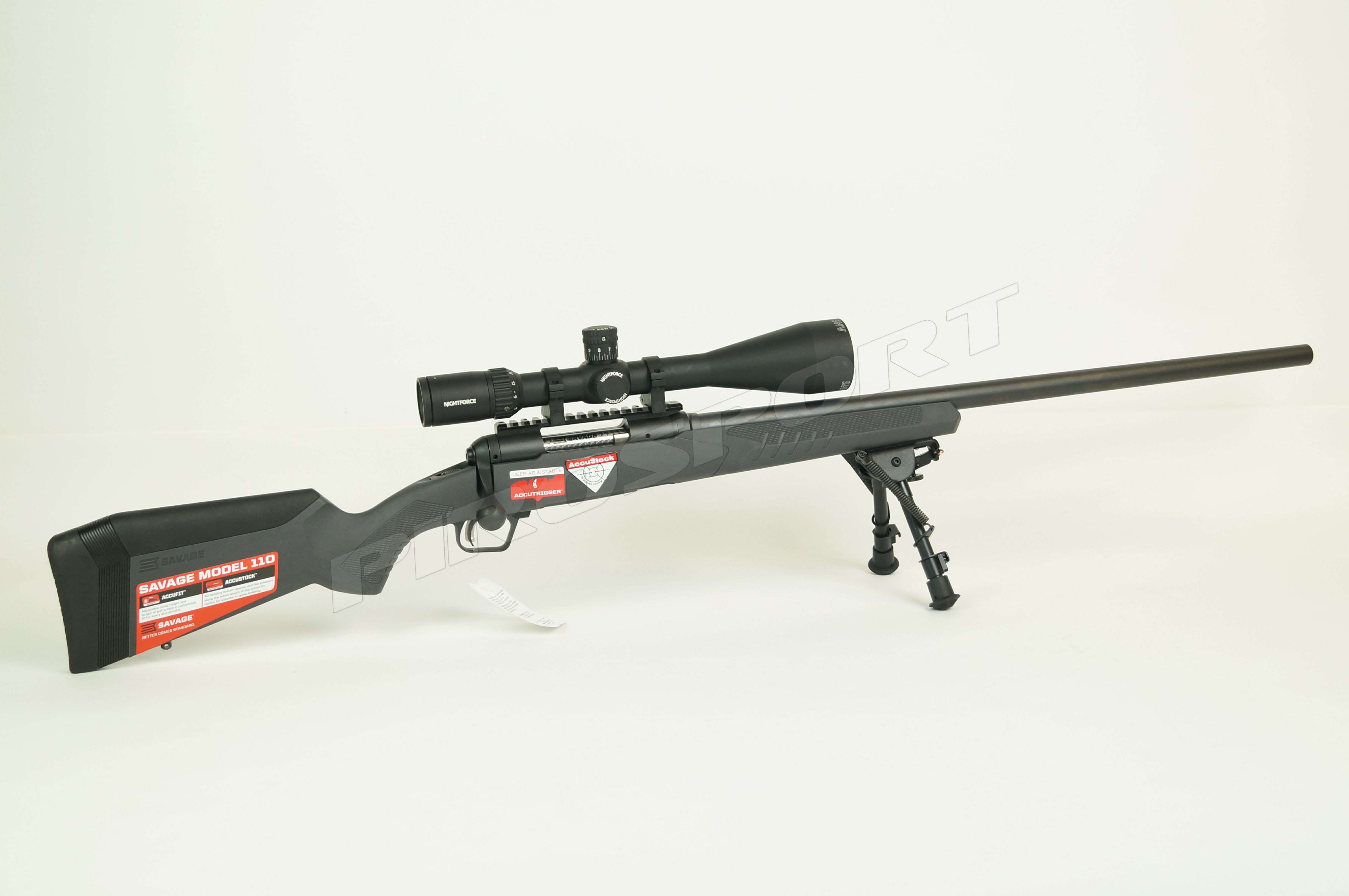 Savage 110 Varmint .223Rem, Nightforce ringen en een Nightforce SHV 5-20x56 van €2895,00 voor €2595,00