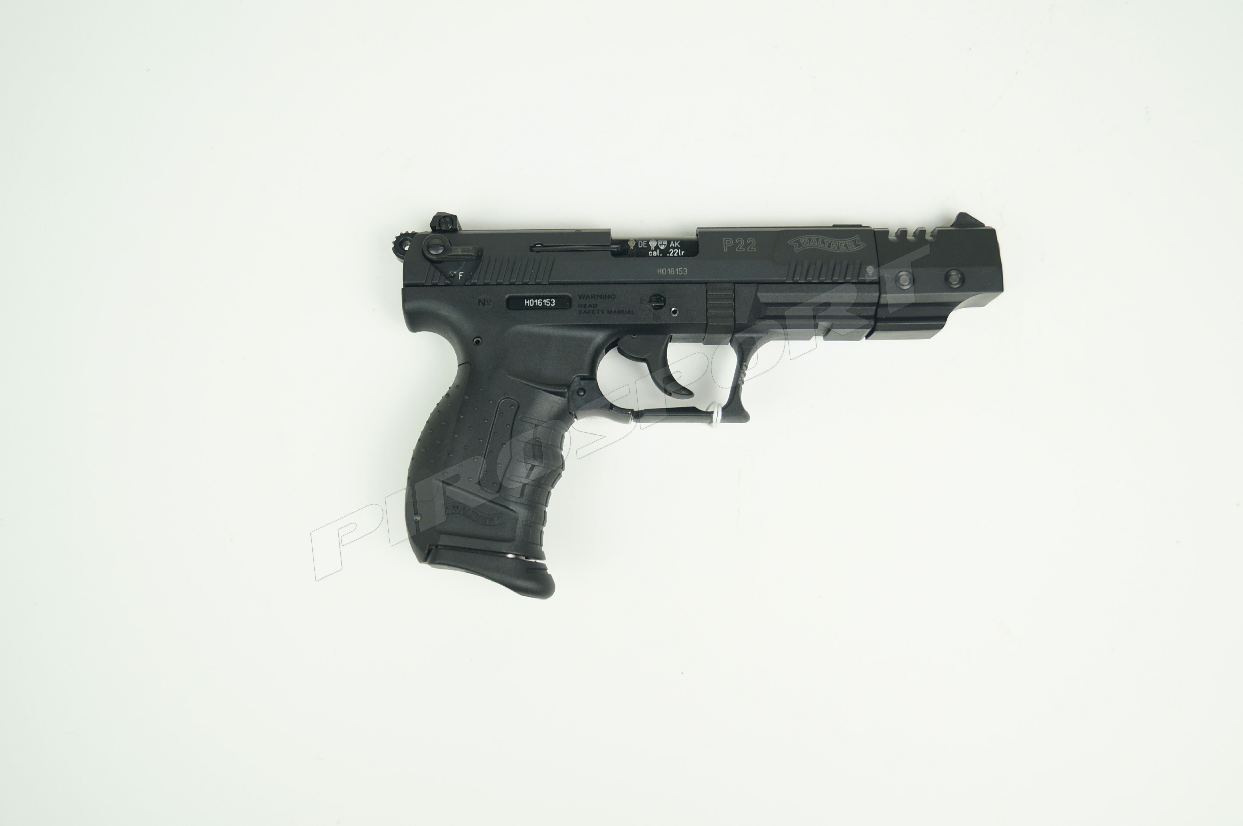 Walther P22 .22LR €350,00